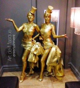 Artdemasque Living Statues For Event Entertainment