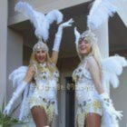 Heavenly Showgirls Stiltwalkers