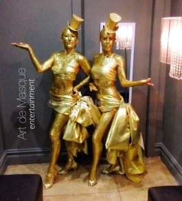 Artdemasque Living Statues For Event Entertainment